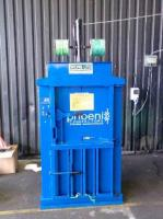 Blue used compact 75 balers